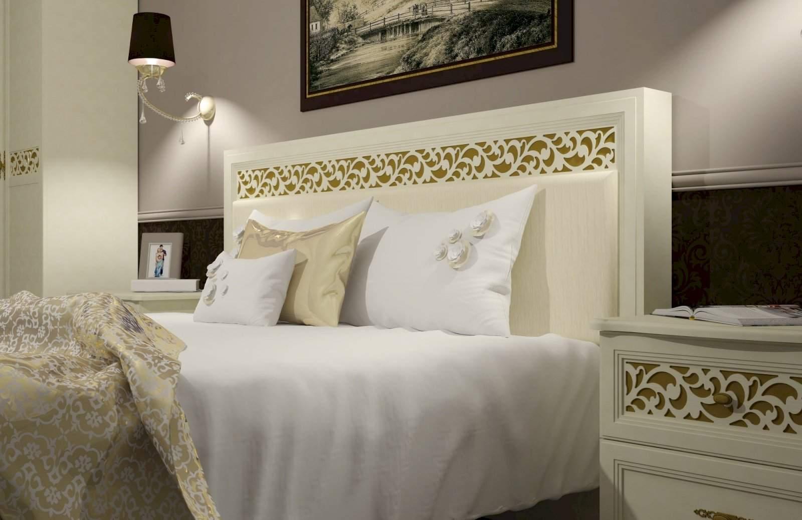 купить спальню ливадия от мебельной фабрики заречье в москве дешево