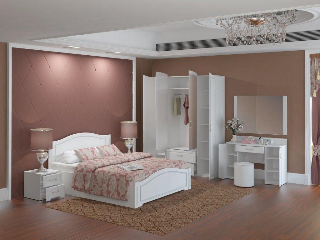 купить спальню виктория от мебельной фабрики ижмебель в москве