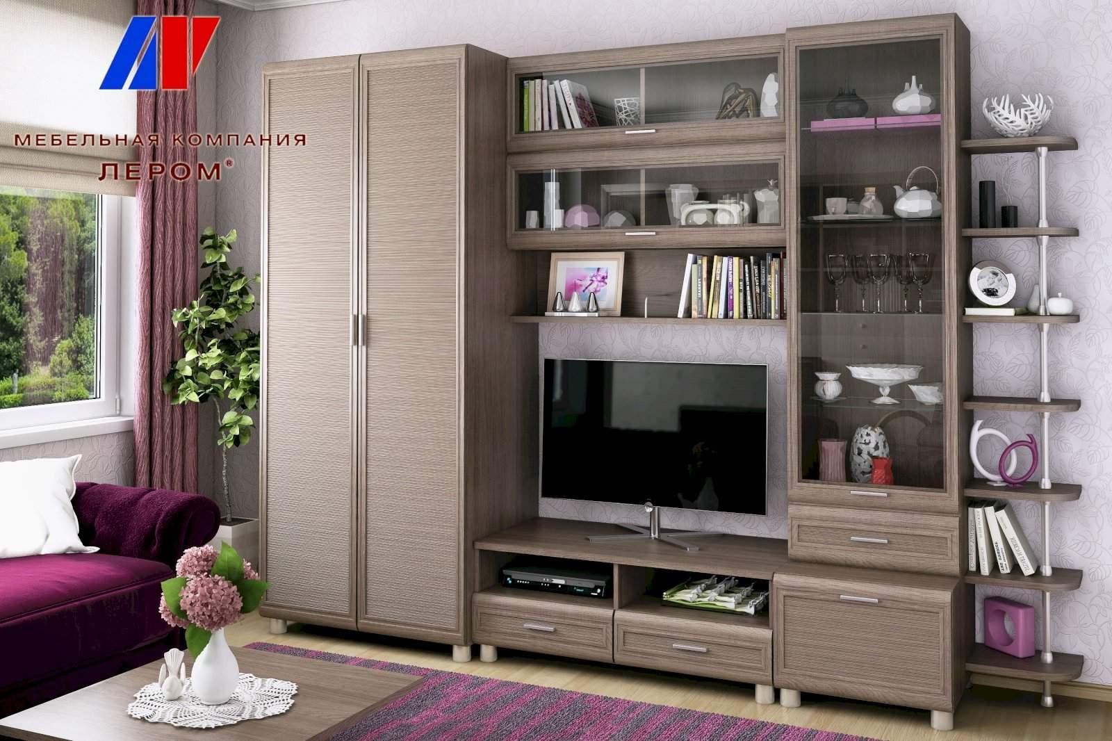 """Купить гостиную """"мелисса"""" композиция 4 от мебельной фабрики ."""
