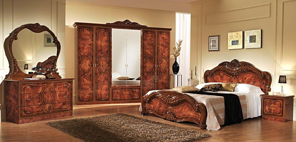 """Купить спальню """"джулиана"""" орех 6-х двер. шкаф от мебельной ф."""