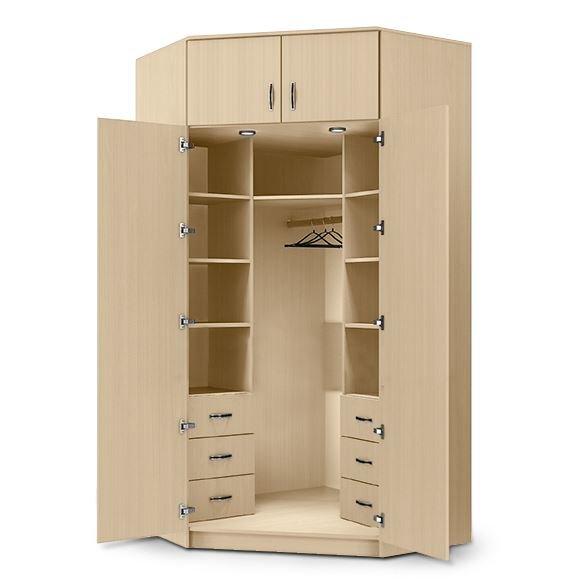 """Купить шкаф угловой двухстворчатый """"клод"""" от мебельной фабри."""